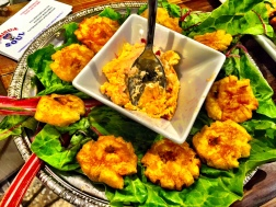 Tostones and Pimento Cheese